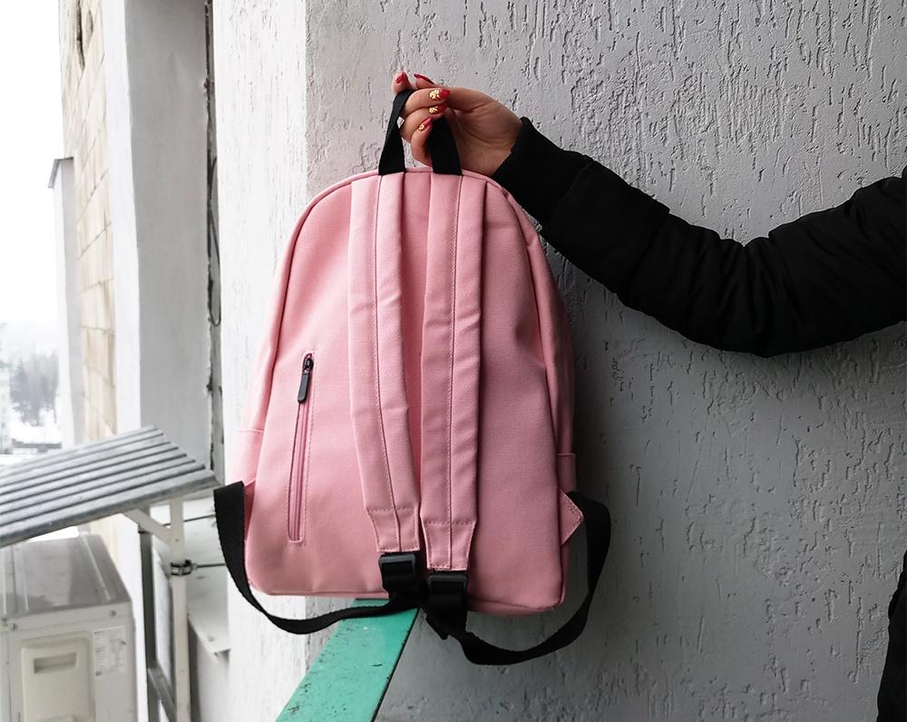 Пудровый рюкзак с Алиекспресс