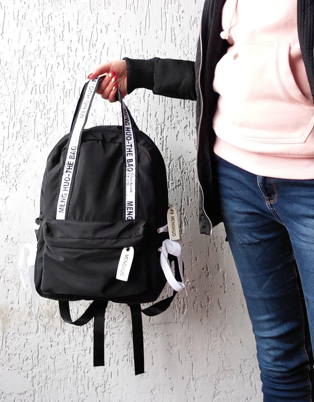 черный рюкзак сумка